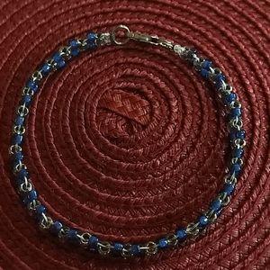 🌵 3 For $20 8 inch blue braided bead bracelet